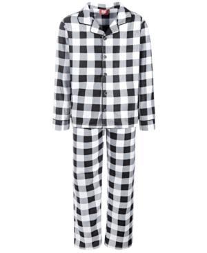 Kids Buffalo Check Pajama Set