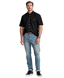 Men's Big & Tall Cotton Short-Sleeve Shirt
