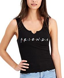 Juniors' Cropped Friends Tank Top