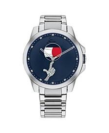 Tommy Hilfiger Space Jam Stainless Steel Bracelet Looney Tunes Watch 42mm