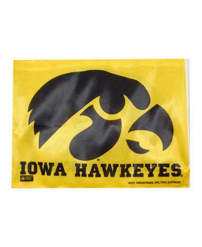 Rico Industries Iowa Hawkeyes Car Flag