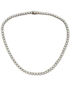 """Opal All-Around 16-3/4"""" Statement Necklace (8 ct. t.w.) in Sterling Silver"""