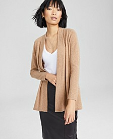 Cashmere Duster Sweater, In Regular and Petites, Created for Macy's