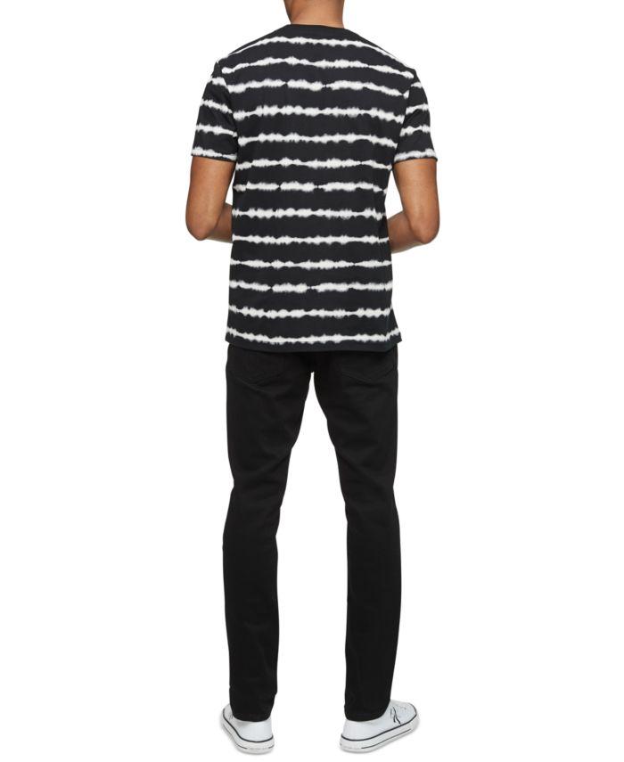 Calvin Klein Men's Tie-Dye Logo T-Shirt & Reviews - T-Shirts - Men - Macy's