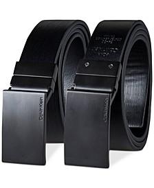 Men's 35mm Plaque Reversible Belt
