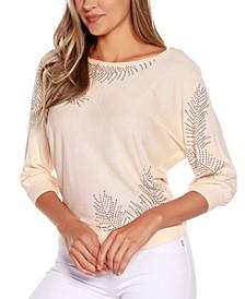 Black Label Dolman Sleeve Pullover Sweater