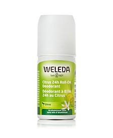 Citrus 24 Hours Roll-On Deodorant, 1.7 oz