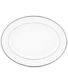 kate spade new york, Sugar Pointe Oval Platter