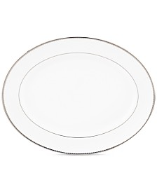 kate spade new york, Sugar Pointe Oval Platter