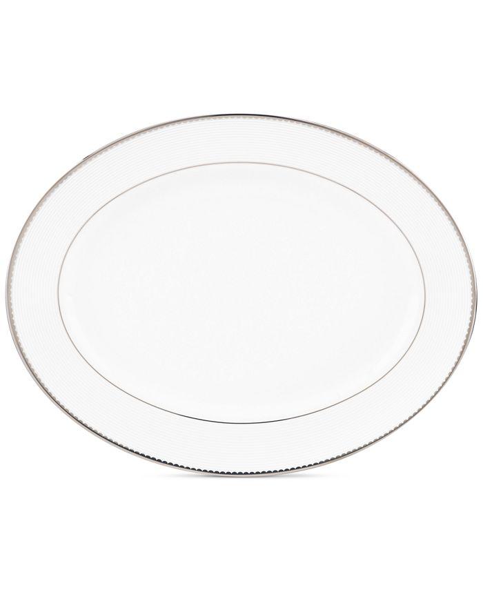 kate spade new york - Sugar Pointe Oval Platter