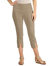 Split-Hem Capri Pants, Created for Macy's