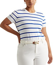 Plus Size Short Sleeve Sweater