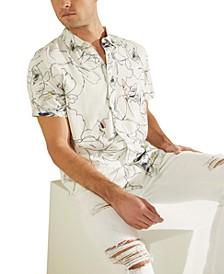 Men's Eco Floral-Print Shirt