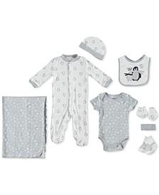 Baby Boys 9-Pc. Penguin Snowflake Set