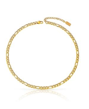 Classic Anti-Tarnish Figaro Chain Necklace