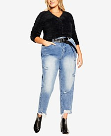 Trendy Plus Size Softly Sweet Cardigan