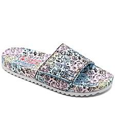 Women's BOBS Pop-Ups 2 - Pastel Sun Slide Sandals from Finish Line