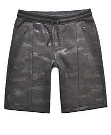 Big Boys Harry Clear Camo Knit Shorts