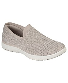 Women's On The Go Flex - Gleam Slip-On Casual Sneakers from Finish Line