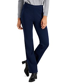 Ponte Knit Bootcut Pants, Created for Macy's
