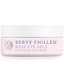 Serve Chilled Rosé Eye Gels, 15 pairs