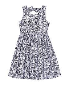 Big Girls All Over Print Babydoll Dress