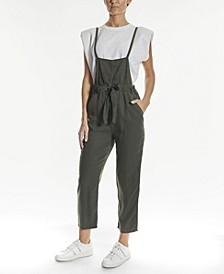 Women's Belted Casual Overall
