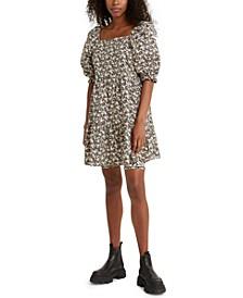 Willa Cotton Trapeze Dress