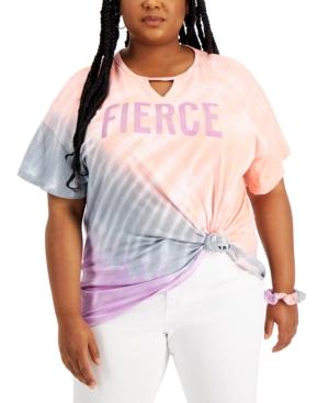 Trendy Plus Size Gigi Cotton Graphic Top