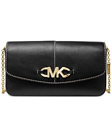 Izzy Large Leather Clutch