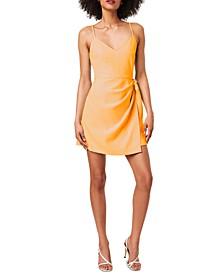 Whisper Side-Tie Mini Dress