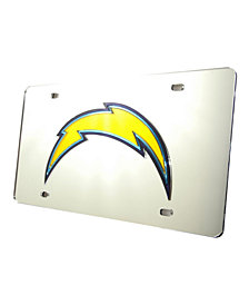 Rico Industries Los Angeles Chargers License Plate
