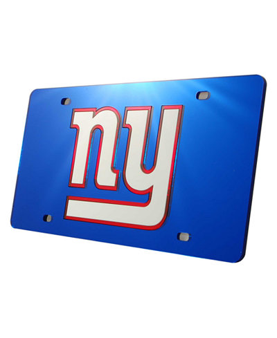 Rico Industries New York Giants License Plate