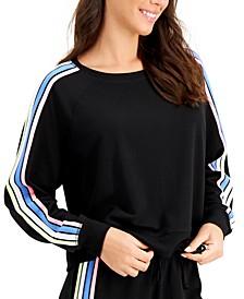 Side-Stripe Sleep Top, Created for Macy's