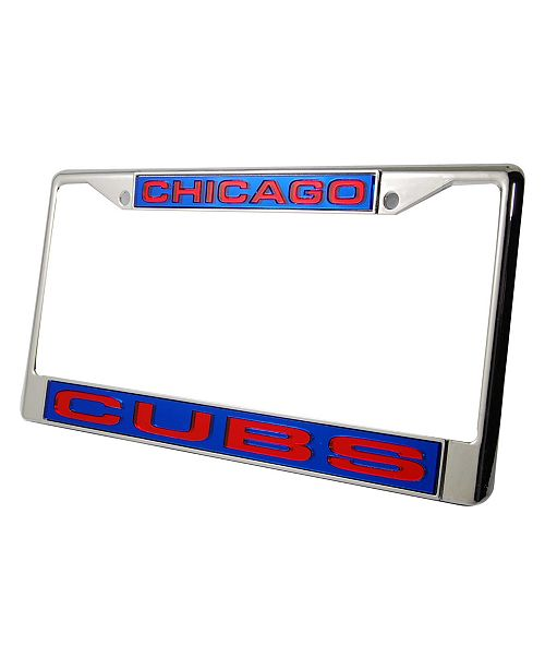 Rico Industries Chicago Cubs License Plate Frame - Sports Fan Shop ...