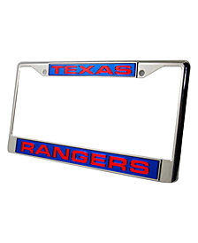 Rico Industries Texas Rangers License Plate Frame