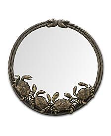 Crab Quartet Antique Wall Mirror
