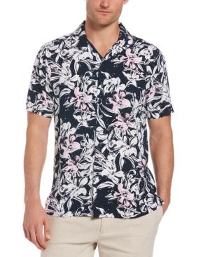 Men's Allover Floral Print Shirt