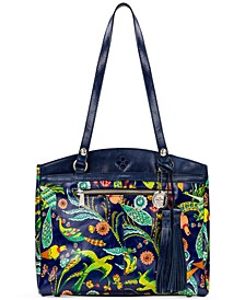 Poppy Leather Tote