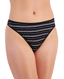 Striped Cotton Thong, Created for Macy's