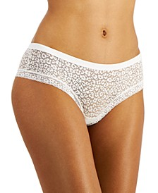 Women's Leopard Lace Hipster Underwear, Created for Macy's