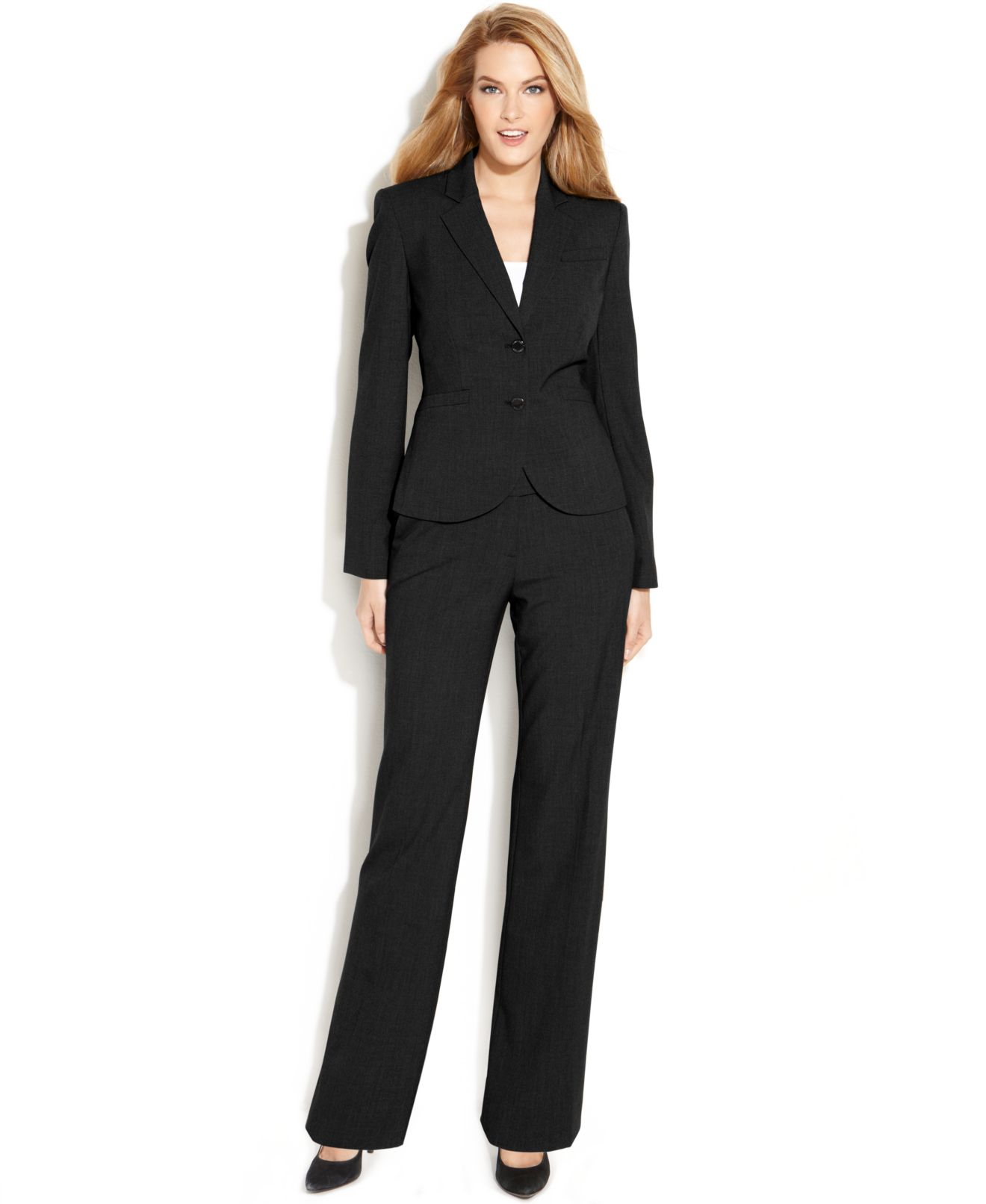Calvin Klein Petite Stretch Blend Suit Separates Collection - Wear ...