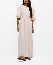 Women's Long Back Slit Dress