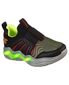 Little Boys Sports Lighted - Erupters IV Zandor Slip-On Running Sneakers from Finish Line