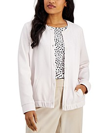 Button-Front Jacket, Created for Macy's