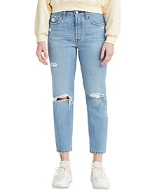 501® Cropped Straight-Leg Jeans