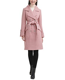Double-Breasted Belted Walker Coat