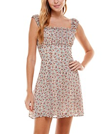 Juniors' Emma Fit & Flare Dress