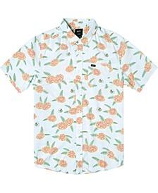 Men's Luke P Floral Short Sleeve Woven Shirt