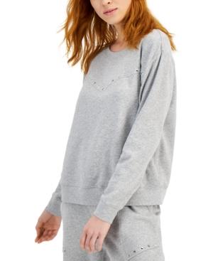Studded Cotton Sweatshirt